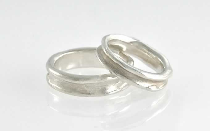 It Was Clear_stacked_Wedding Bands_Custom_POPPY